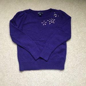 Gap Kids Sweater with Jewel Detail